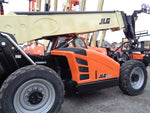 2019 JLG G10-55A TURBO 10000LBS DIESEL ENCLOSED CAB TELESCOPIC TELEHANDLER 4WD