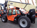 2019 JLG G10-55A TURBO 10000LB DIESEL ENCLOSED CAB TELESCOPIC TELEHANDLER 4WD