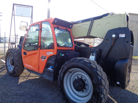2018 JLG G9-43A 9000LB DIESEL TELESCOPIC TELEHANDLER  ENCLOSED CAB