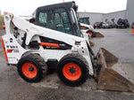 2015 BOBCAT S650 WHEEL SKID STEER LOADER ENCLOSED CAB AUX HYDRO