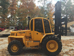 2005 SELLICK S80 8000LB DIESEL 4X4 ROUGH TERRAIN FORKLIFT 2 STAGE MAST