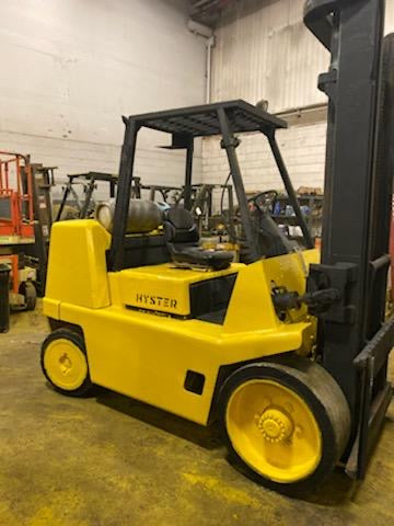 2001 HYSTER S155XL 15500 LB LPG FORKLIFT CUSHION 2 STAGE MAST
