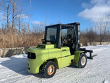 2000 CLARK C500Y1000 10000LB DIESEL FORKLIFT PNEUMATIC 3 STAGE SIDE SHIFT