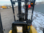 2012 YALE ERP040VTN 4000LB 3 STAGE MAST ELECTRIC FORKLIFT CUSHION SS/4WAY