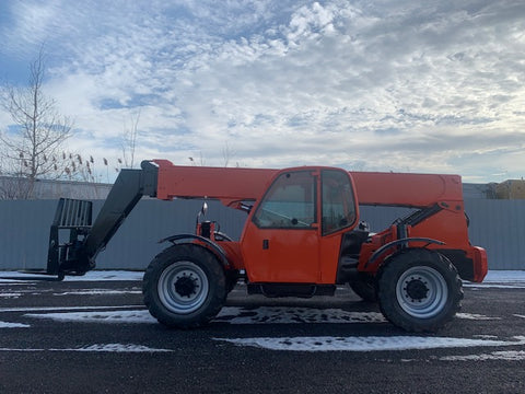2007 LULL 944E-42 9000LB DIESEL TELESCOPIC TELEHANDLER 4WD ENCLOSED CAB