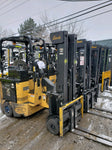 2007 BENDI B40 4000LB 48V ELECTRIC FORKLIFT CUSHION 3 STAGE MAST SIDE SHIFT