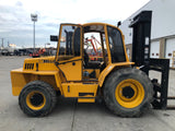 2015 SELLICK S120 12000LB DIESEL ROUGH TERRAIN 4WD FORKLIFT 3 STAGE SS