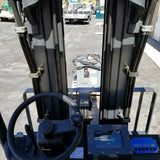 "NEW 2010 GREGORY RSC5EX 5000 LB 80 VOLT ELECTRIC FORKLIFT 170"" 3 STAGE MAST EXPLOSION PROOF"