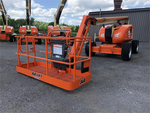 2008 JLG 600AJ ARTICULATING BOOM LIFT JIB ARM 60' REACH DIESEL 4WD