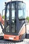 2011 HITACHI ZX35U-3 ENCLOSED CAB W/ BLADE