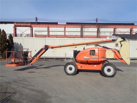 2013 JLG 600AJ ARTICULATING BOOM LIFT JIB ARM 60' REACH DIESEL 4WD
