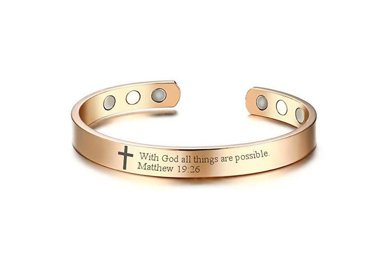 Therapy-Magnetic-Scripture-Faith-Christian-Bible-Verse-Engraved-Inspirational-Cross-Bangle-Bracelet-Women