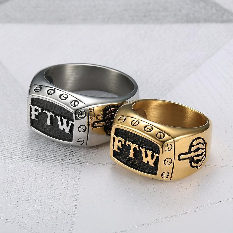 Two-Tone Scorpion Zodiac Birth Sign Ring (Scorpio)