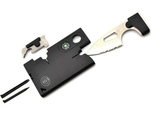 Credit Card Tool Set Knife - best Army Tactical Multitool Pocket @ Sons of Odin™ - Men's Jewelry on