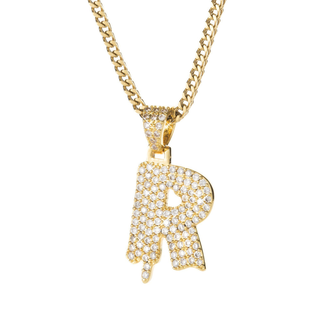 Letter R Pendant @ Sons of Odin™ - Men's Jewelry on Sale, Necklace, Earrings for Men, Cool Gifts