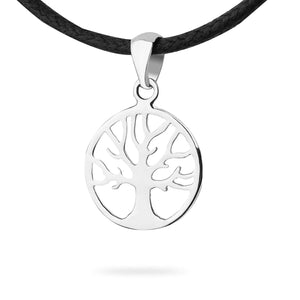 Yggdrasil Viking Family Tree of Life Sterling Silver Pendant Necklace Celtic @ Sons Odin™ - Men's
