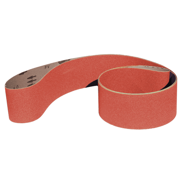 "4"" x 132"" Sanding Belts for Stock Removal"