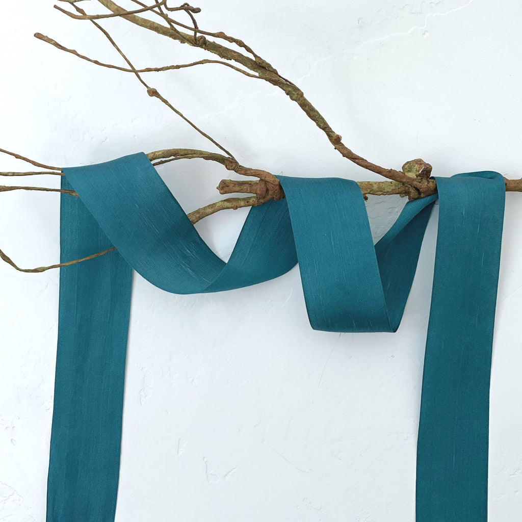 spruce silk ribbon