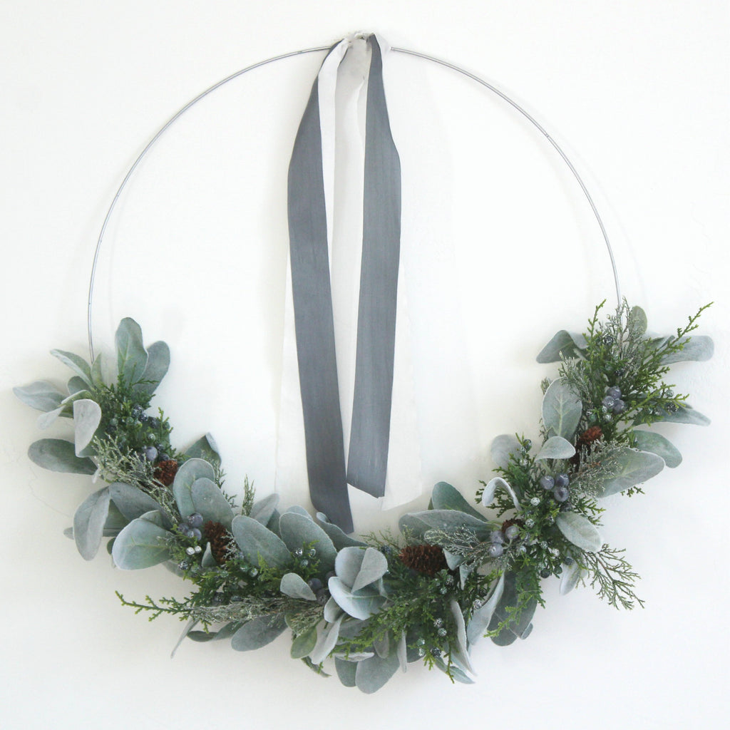 charcoal grey silk ribbon