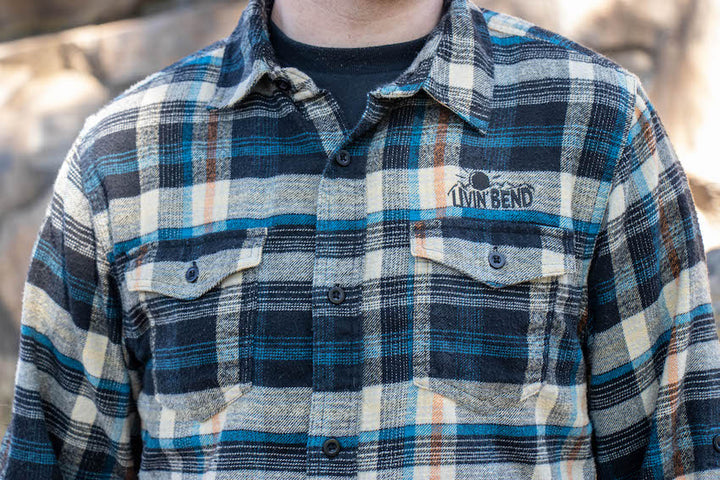 Livin' Bend Flannel