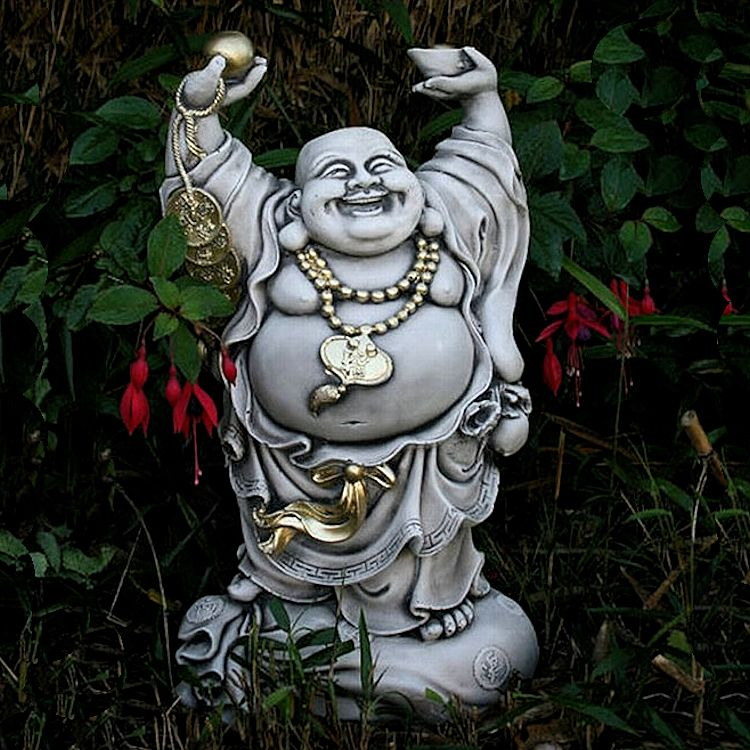 Laughing Buddha Figurine Statue Meaning & Symbolism