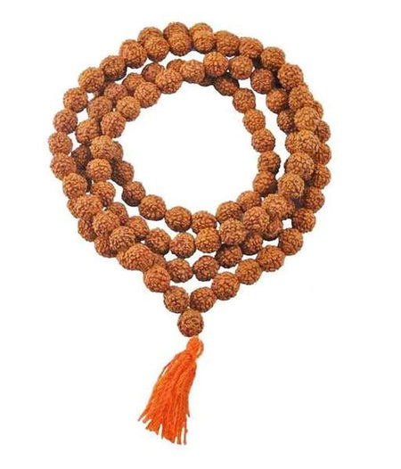 Buy Original Genuine 108 Beads Meditation Japa Rudraksha Mala