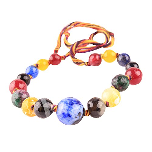 Colourful Stone Fashion Bracelet - Daily Wear Party Wear Gifts for Men and Women