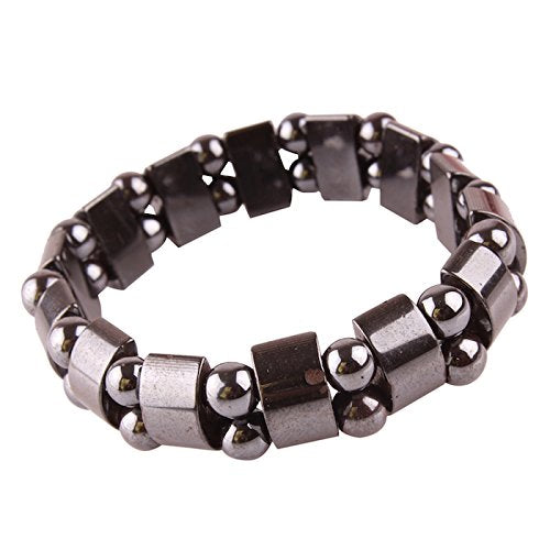 Buy Magnetic Metallic Black Fashion Daily Wear Bracelet Price Online Cheapest