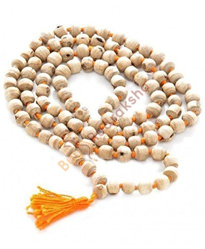 Original Tulsi Bead Mala Rosary for Pooja and Wearing Daily