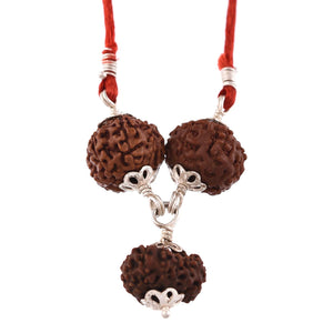 Buy Original Saraswati Rudraksha Pendant 6 Mukhi and 4 Mukhi Rudraksha beads Cheapest Online