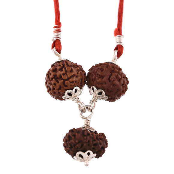 Buy Original Wisdom Power Pendant ( 6+3+6 Mukhi Rudraksha Beads ) Online Cheapest Cash on Delivery