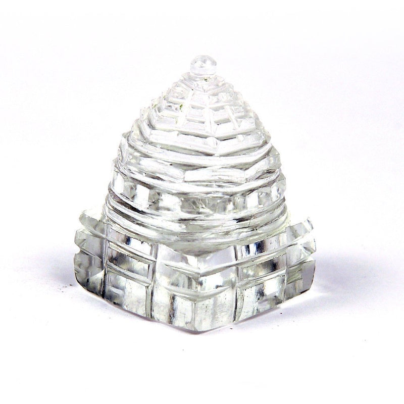 Original Crystal Sphatik Shree Sumeru Yantra Price Online Cheapest
