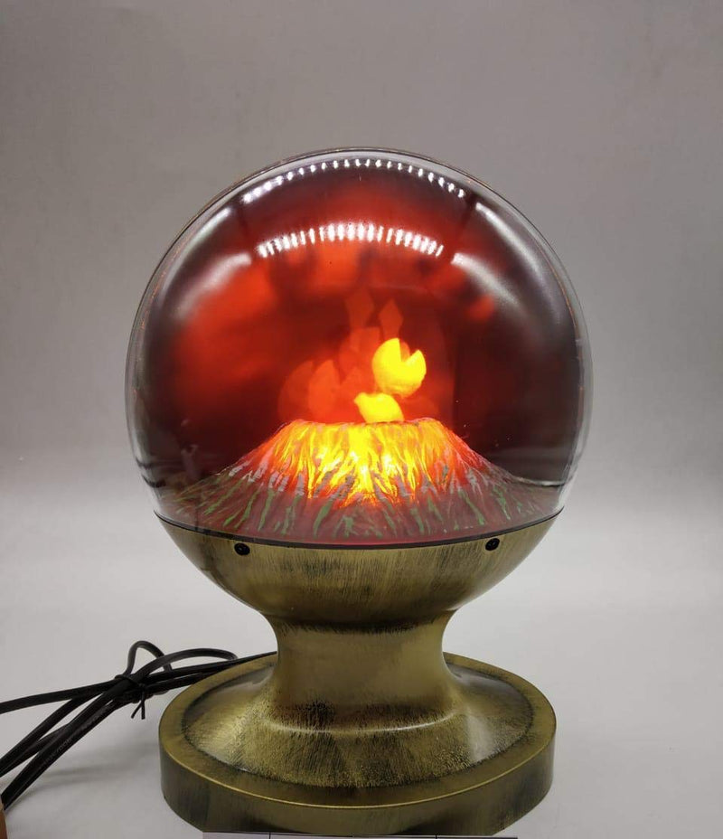 Beautiful Volcano Shaped Designer Lava Like Lamp (Height : 10 inches)