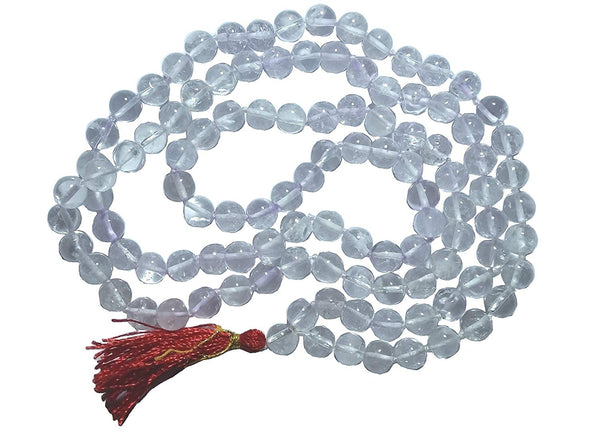 Original Crystal / Sphatik Mala for Men, Women & Children