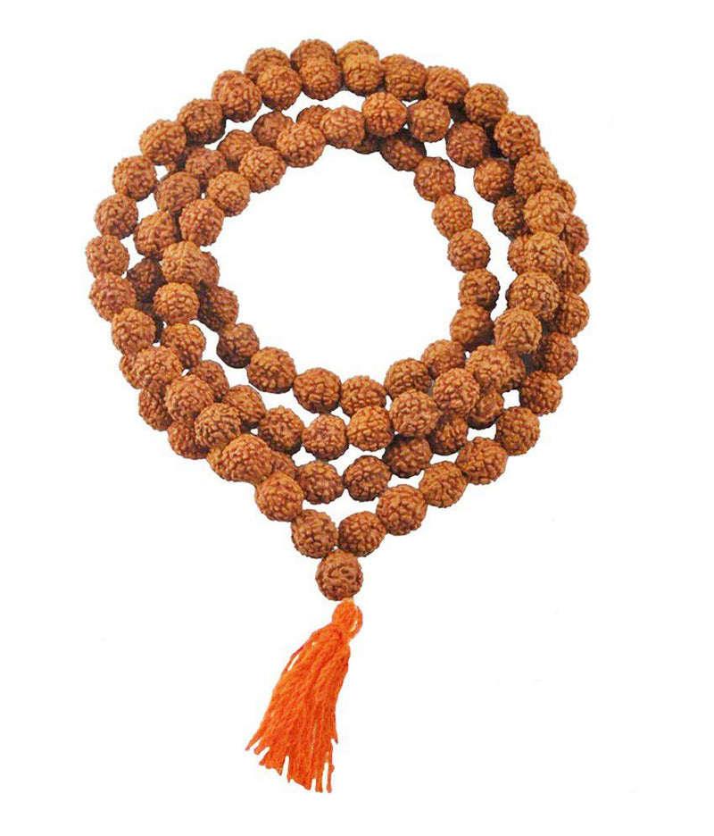 Buy Original Certified Rudraksha Mala 8 MM Online at cheapest Price only from Petrichor.