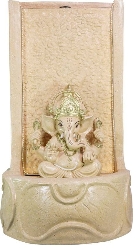 God Ganesha Water Fountain for Home/Office/Puja Room/House Warming Gift/Living Room/Hall/Terrace (94 cm X 50 cm X 40 cm)
