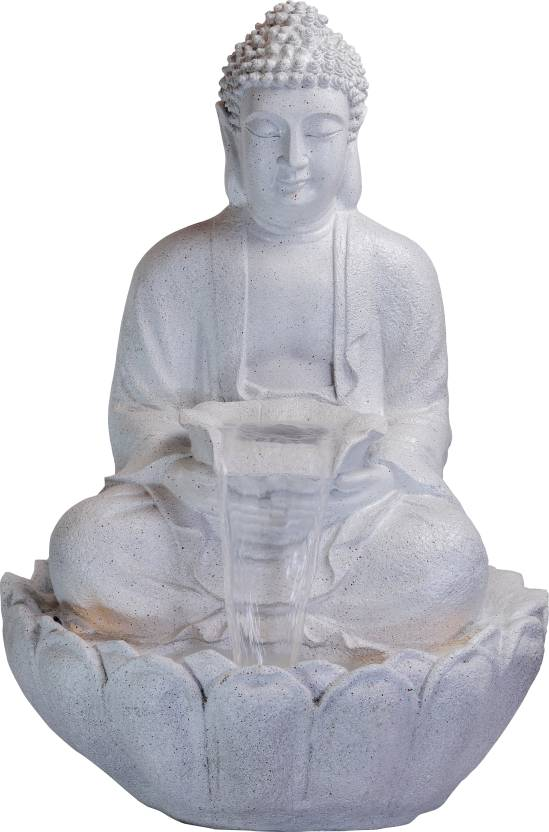 Lord Buddha Large Water Fountain for House Warming/Gift/Living Room/Garden