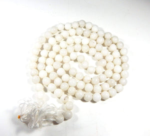 Buy Original Certified White Hakik Agate Mala Rosary Moon Venus Fashion Jewellery