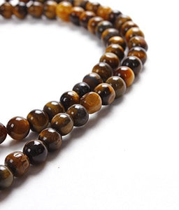 Buy Brown Tiger Eye Gemstone Mala Rosary