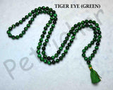 Buy Green Tiger Eye Gemstone Mala Rosary