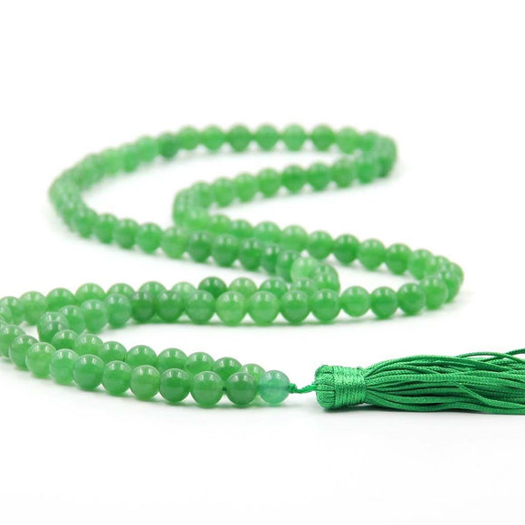 Buy Green Onyx Original Chain 8 mm for Good Luck & Fortune Unisex Online at Best Price