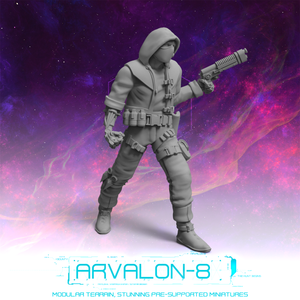 Arvalon 8 Bounty Hunters: Elliot