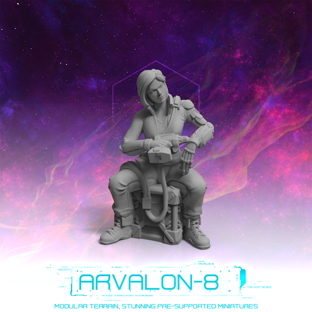 Arvalon 8 Crews: Crew 1-3 Tammy