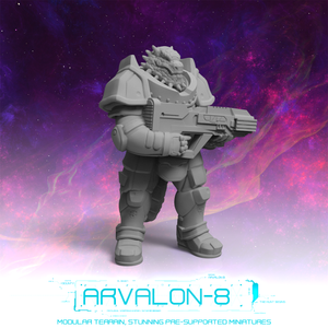 Arvalon 8 Crews: Crew 12-4 Ittu