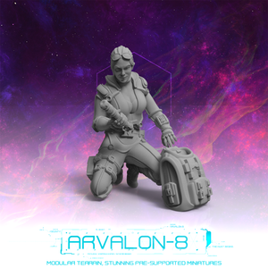"Arvalon 8 Crews: Crew 8-3 Rayina ""Hex"""