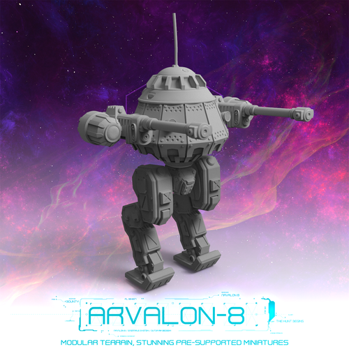 Arvalon 8 Crews: Crew 9-1 BZ Colossus