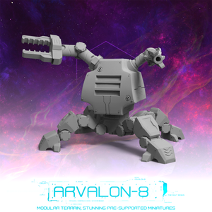Arvalon 8 Crews: Crew 9-2 Breacher Bot V5 The Spider