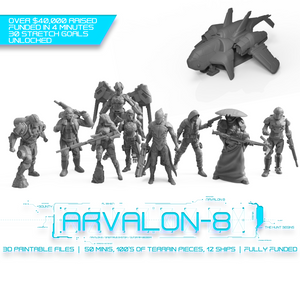 Arvalon 8 Terrain Welcome Pack