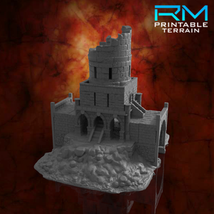RUINED WHITSTONE KEEP