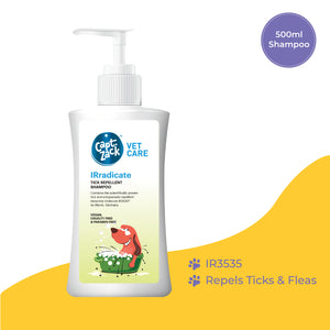 IRradicate – Tick Repellent Shampoo 500ml